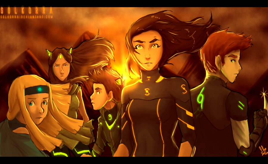 Legend of Sol: The Team Avatar by SolKorra