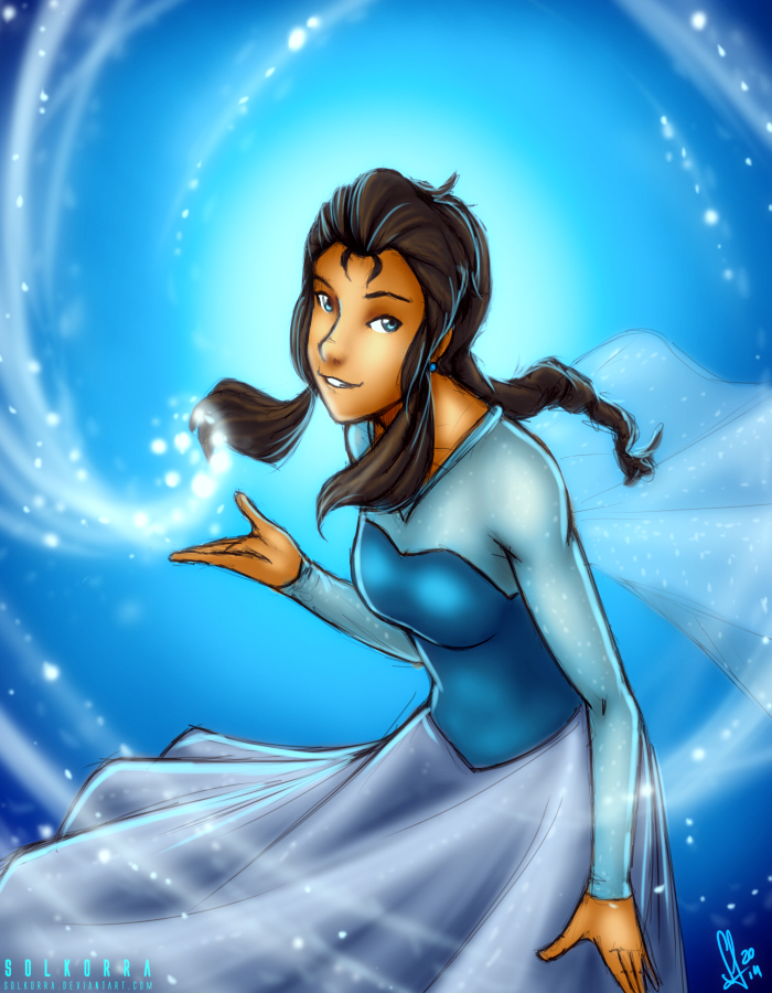 Korra is Elsa by SolKorra