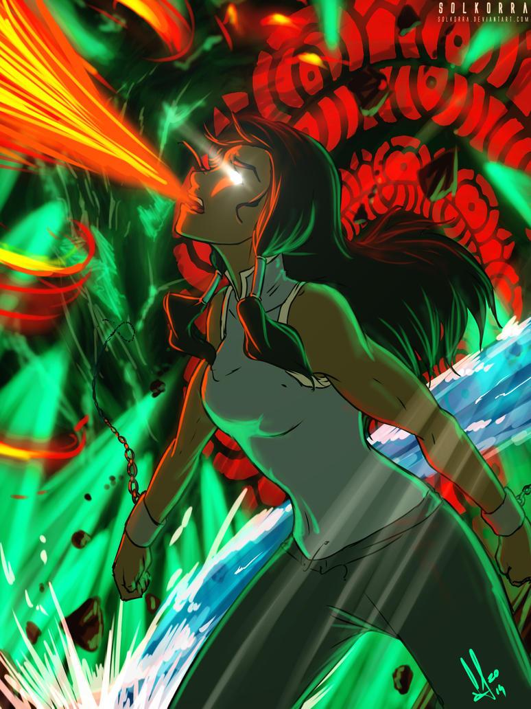 Korra Final Avatar State by SolKorra