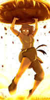 Korra The Power of The Avatar State by SolKorra