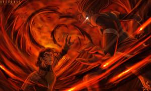 Korra vs Kuvira The Last Battle