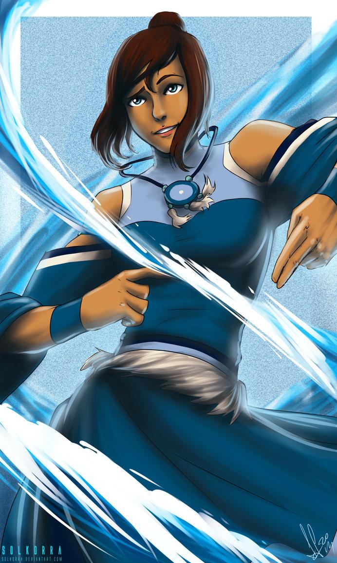 Avatar Korra Water by SolKorra