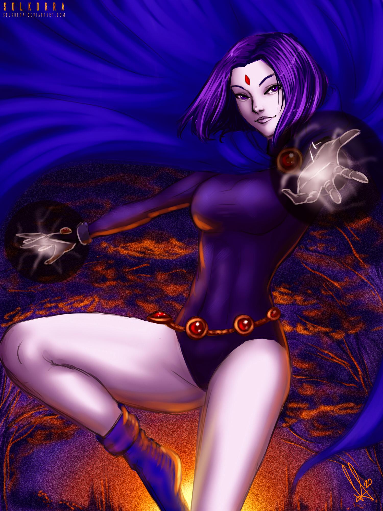 Raven by SolKorra