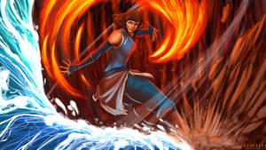 Avatar Korra by SolKorra