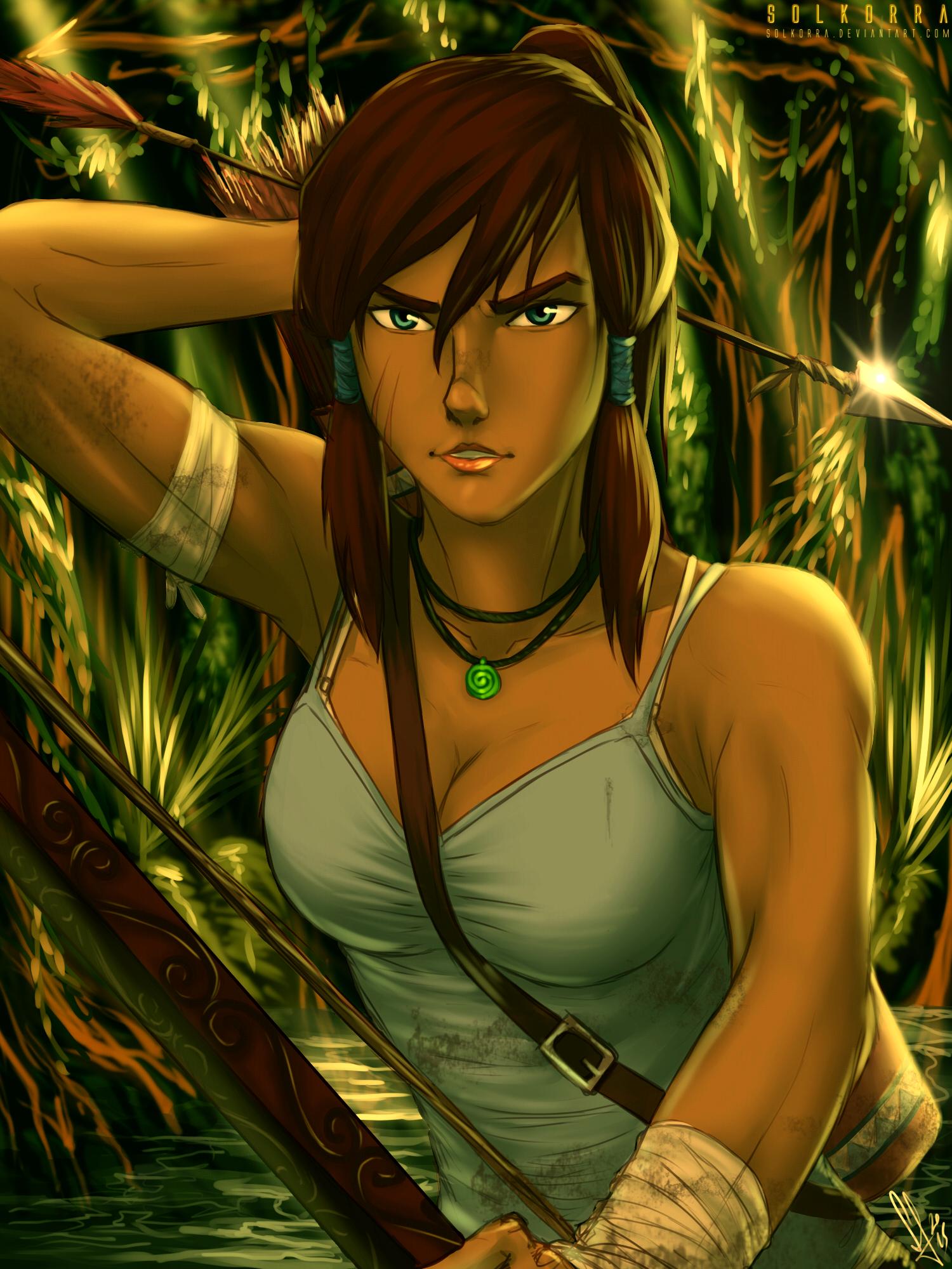 Tomb Raider Reborn with Korra II by SolKorra