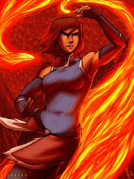 Korra Fire Power