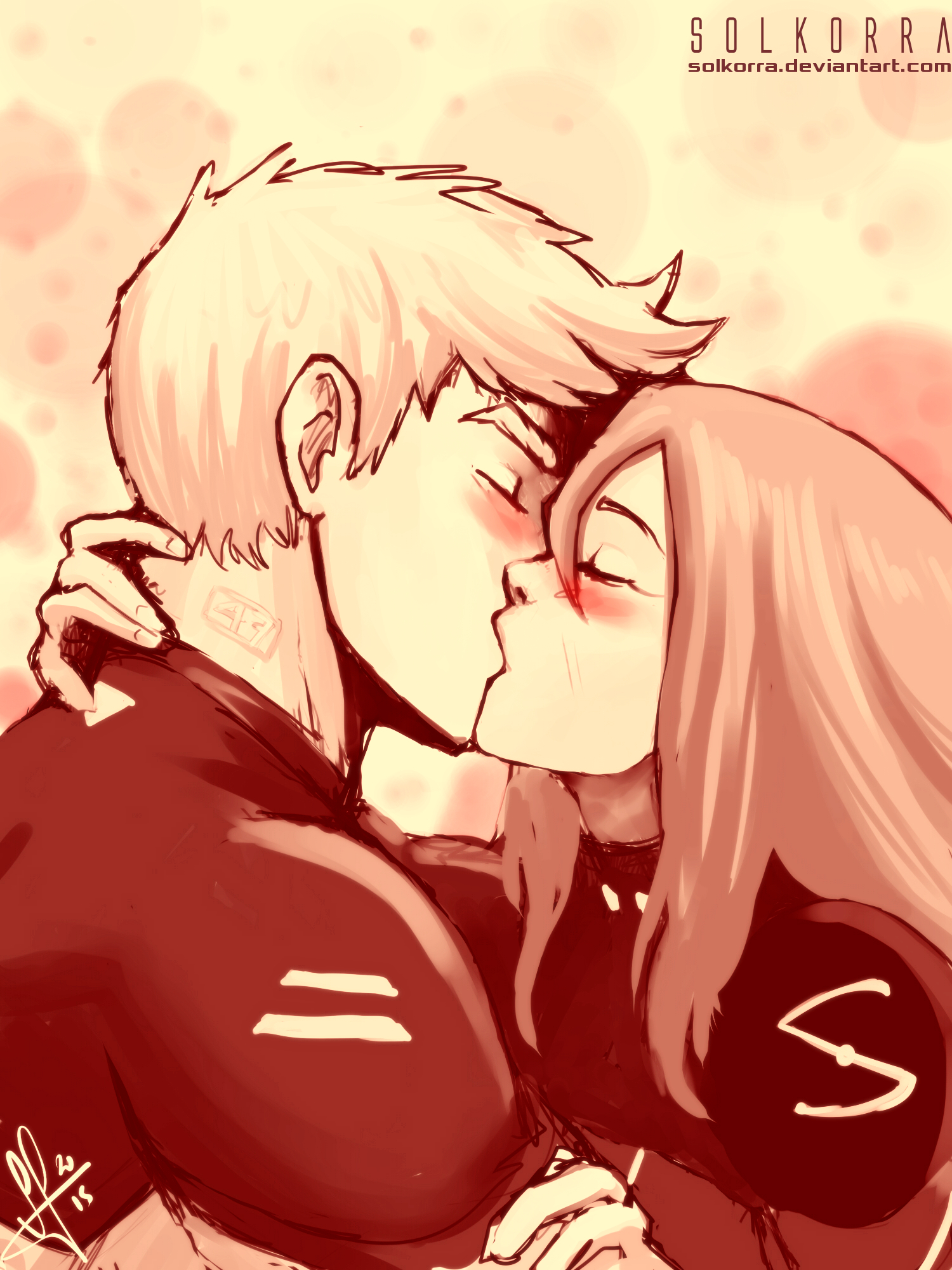 Sol and Brok: Dreaming The Kiss by SolKorra