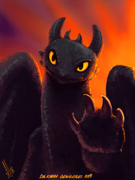 Toothless How to Train Your Dragon I