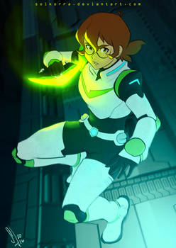 Pidge Ready for Fight!