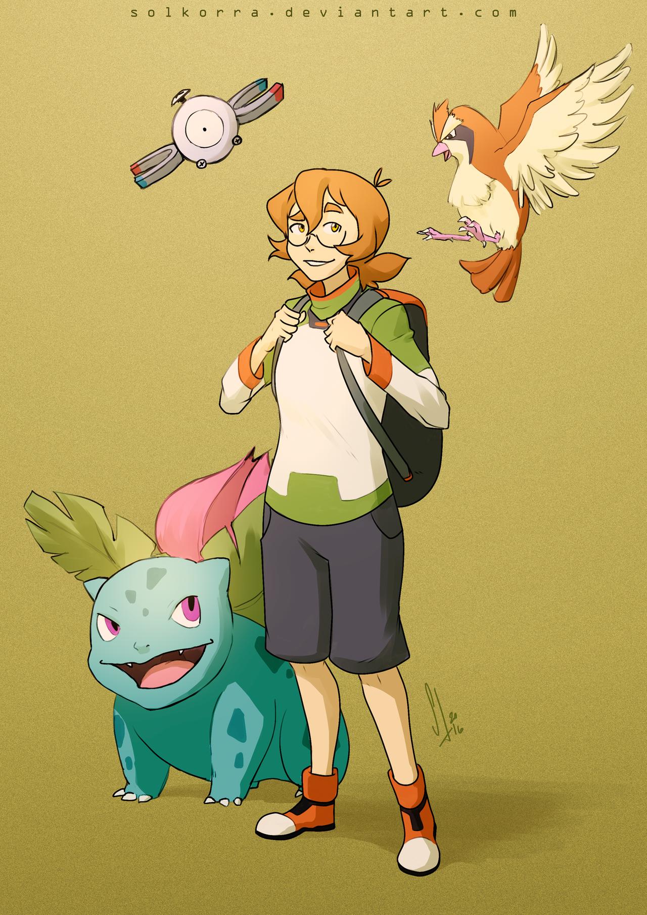 Pokemon Trainers: Pidge by SolKorra on DeviantArt