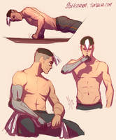 Shiro Sketches by SolKorra