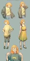 Pidge Sketches #3