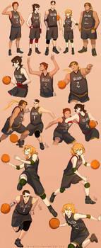 Team Voltron x Basketball by SolKorra