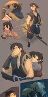 Shiro And Keith X Sword Of The Stranger