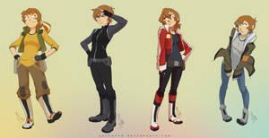 Pidge x Paladins Outfits