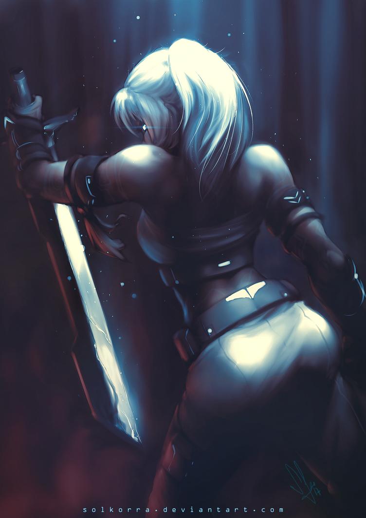 Warrior by SolKorra