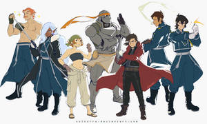 Voltron Legendary Defender x FMA Brotherhood