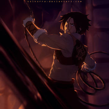 Castlevania: Trevor Belmont by SolKorra