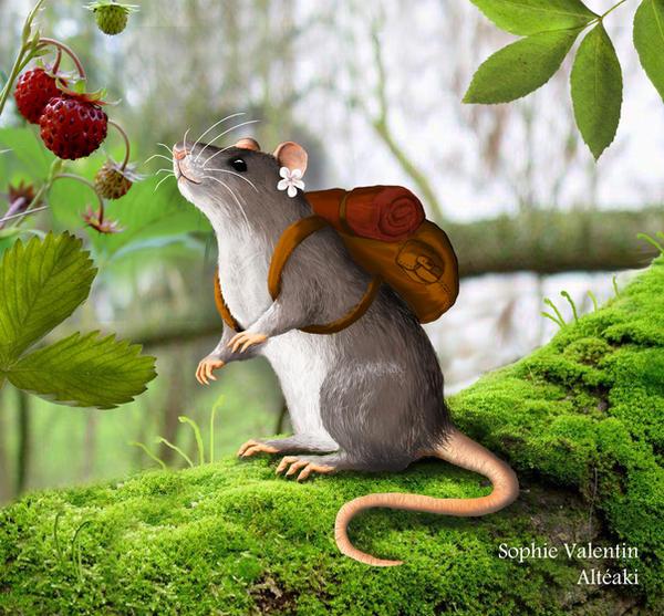Traveler rat by SophieAlteaki
