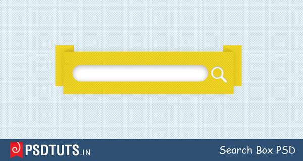 Stylish Search Box PSD by johnlev