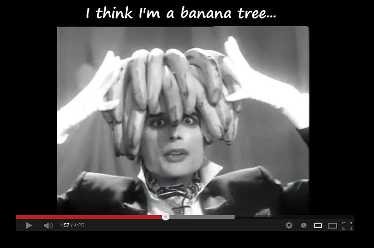 I think I'm a banana tree... by TheFluffyFoxeh