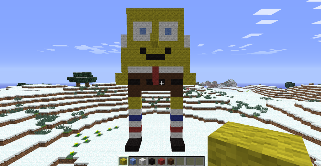 Spongebob! XD by TheFluffyFoxeh