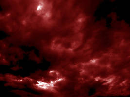 bloody red sky stock by Gothicmamas-stock