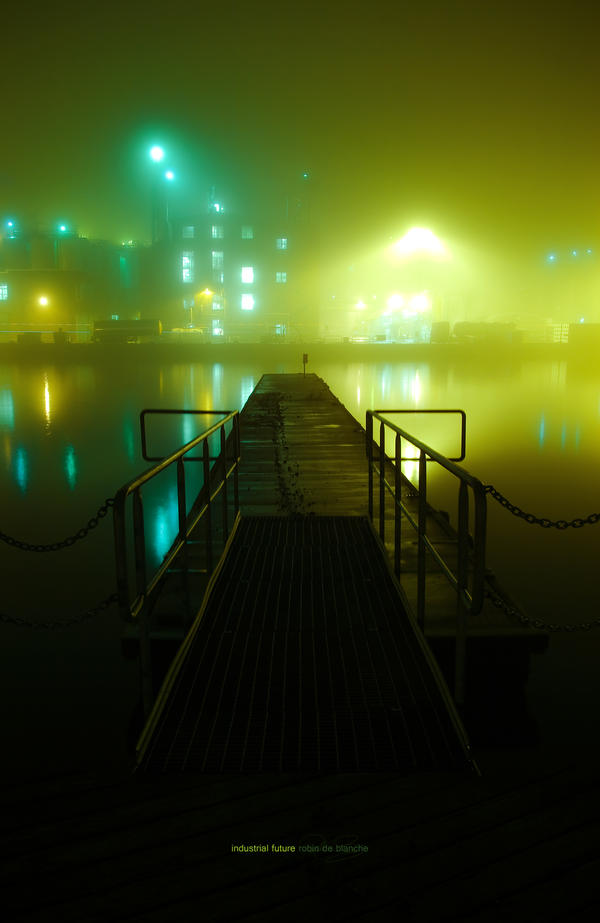 Foggy Docks