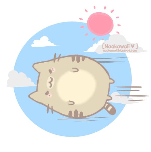 Fat neko by Naokawaii