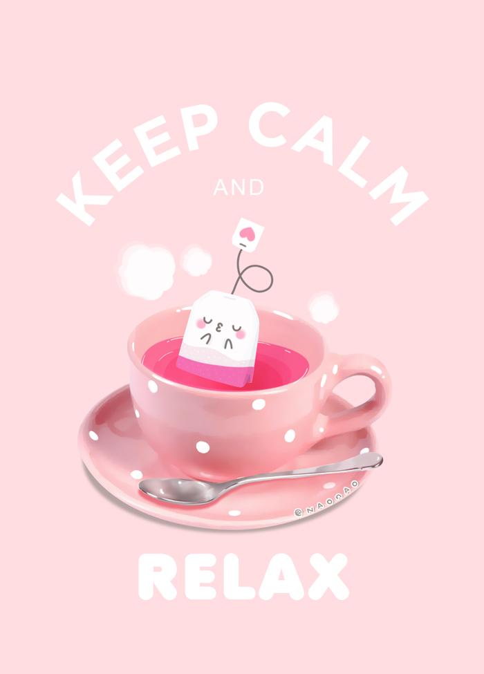Keep Calm And Relax2 by Naokawaii