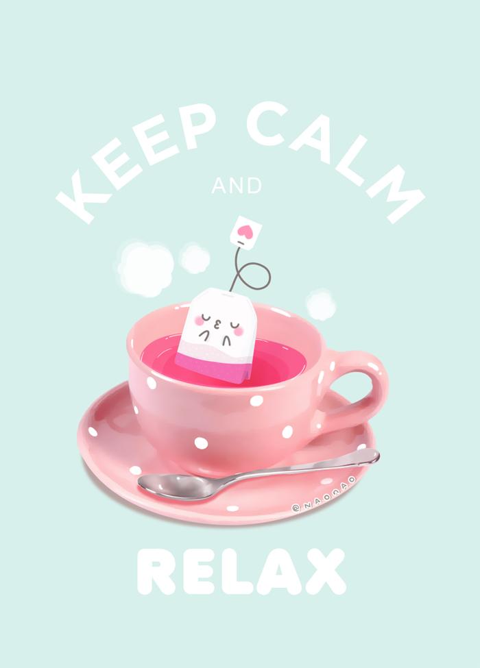 Keep Calm And Relax3 by Naokawaii