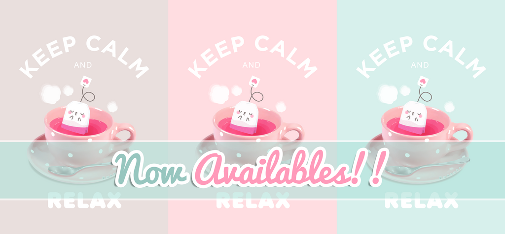 KEEP CALM AND RELAX AVAILABLES by Naokawaii