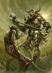 Minotaur Rage