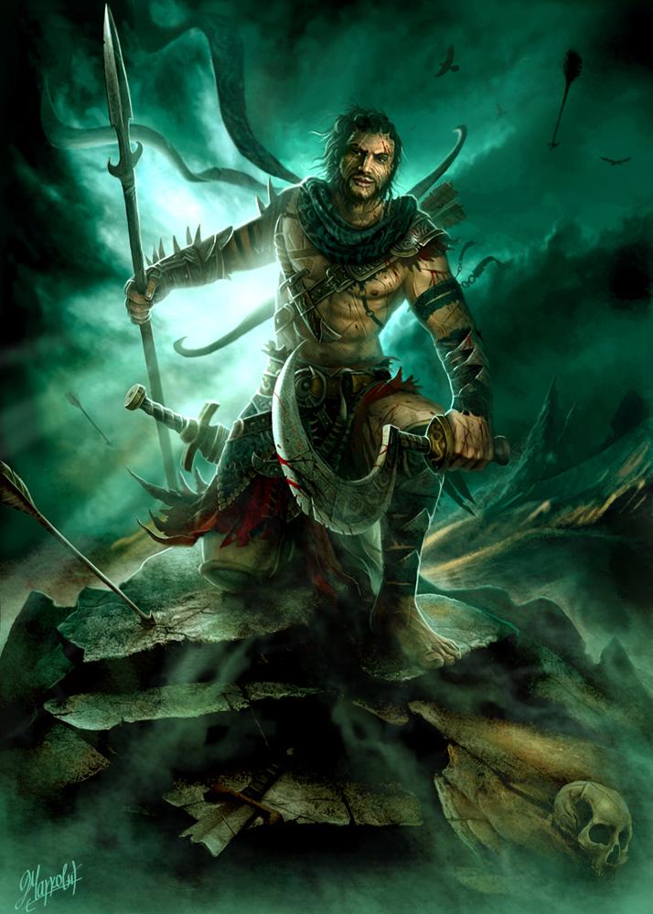 Desert Warrior by DusanMarkovic