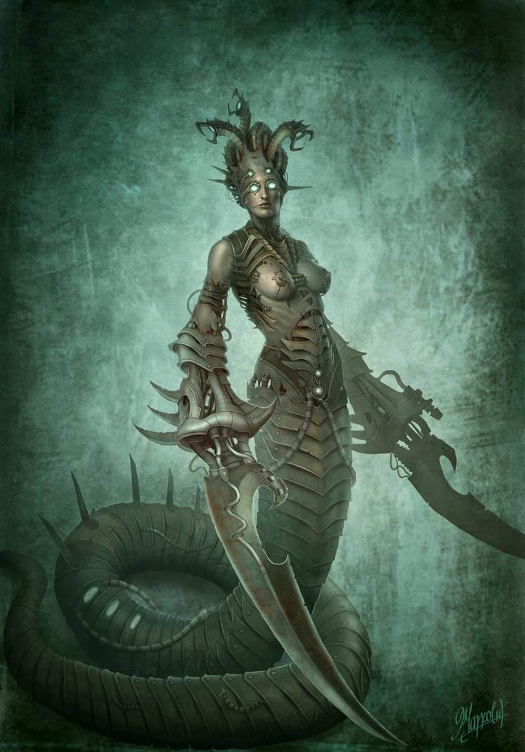 Medusa by DusanMarkovic