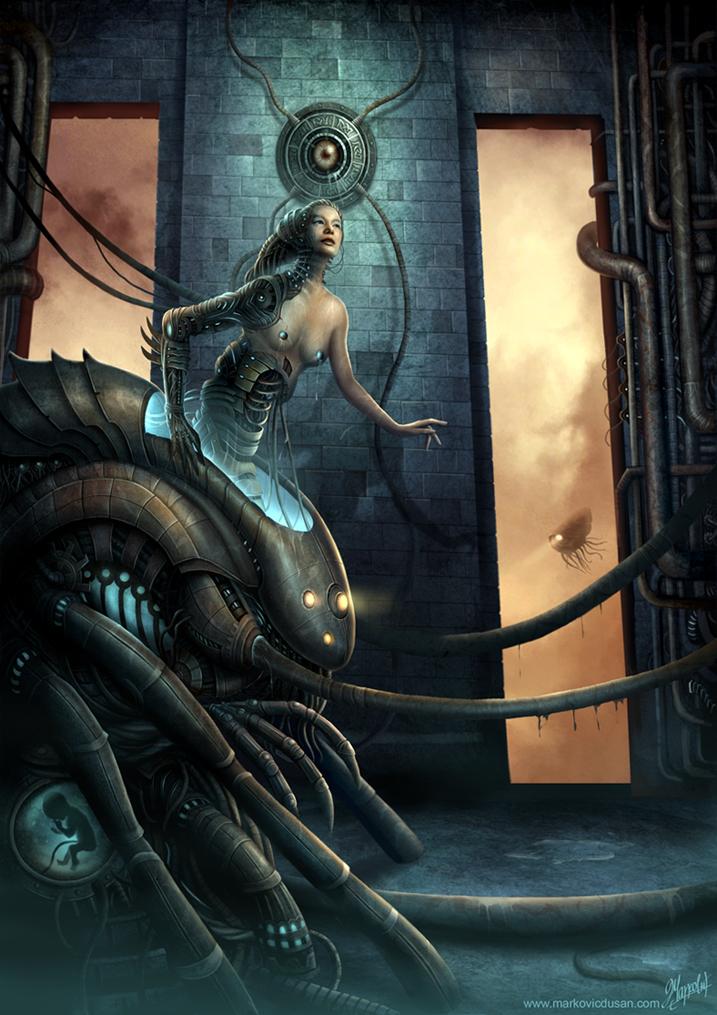 Birth of Venus Illegitima by DusanMarkovic