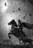 Rider of the night by DusanMarkovic