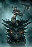 Daughter of Asgard by DusanMarkovic