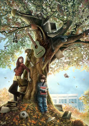 Wish Tree by DusanMarkovic