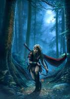 Moonhair girl by DusanMarkovic