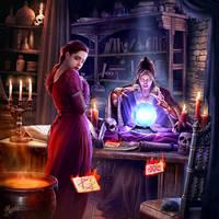 Fortune teller by DusanMarkovic