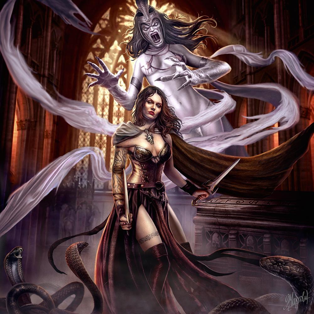 Galeria de Arte: Ficção & Fantasia 1 - Página 5 Cursed_tomb_by_dusanmarkovic-d7wlqyb