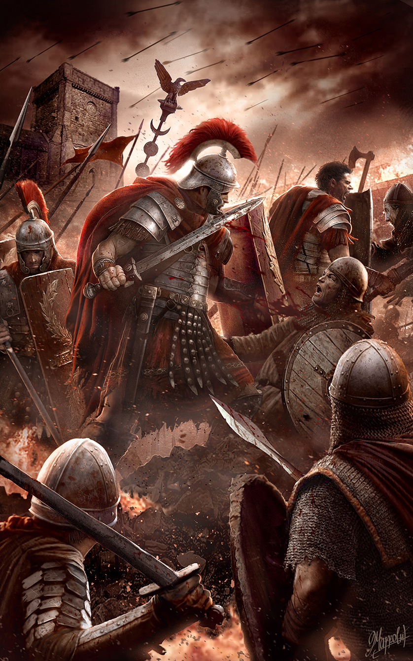 For The Glory Of Rome By Dusanmarkovic On Deviantart