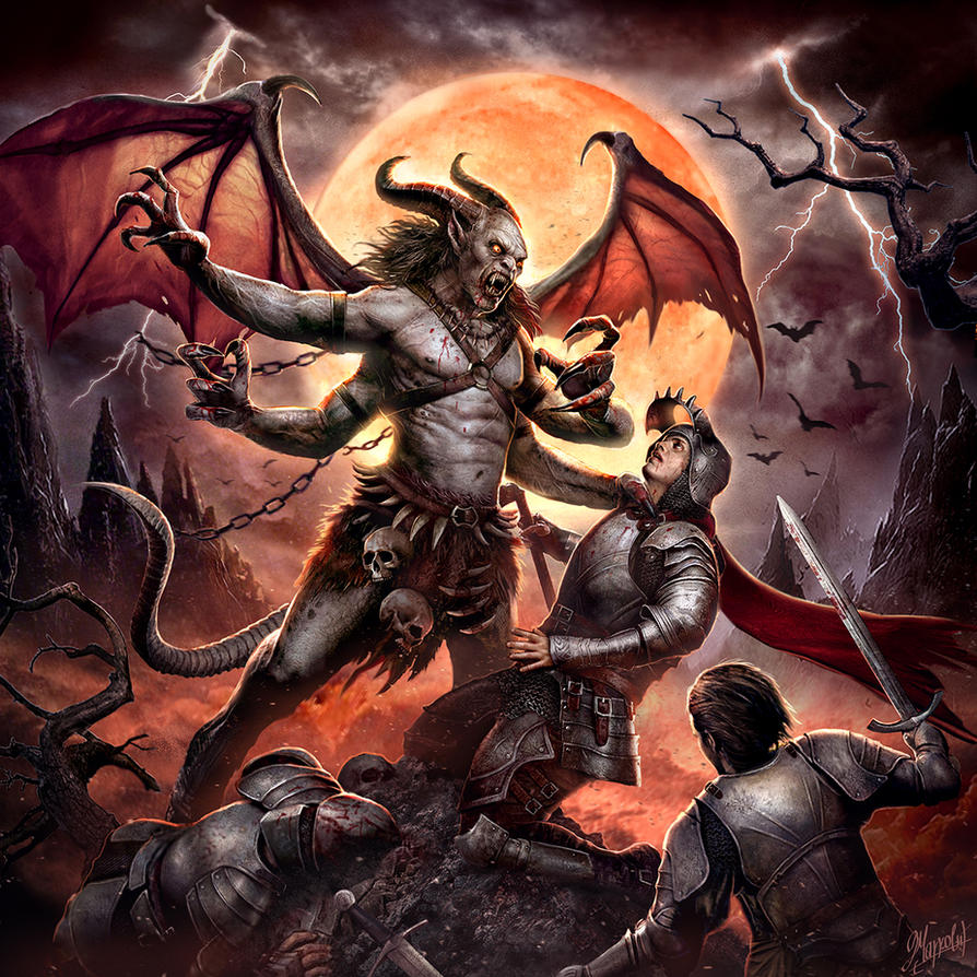 Demon Of The Night By DusanMarkovic On DeviantArt