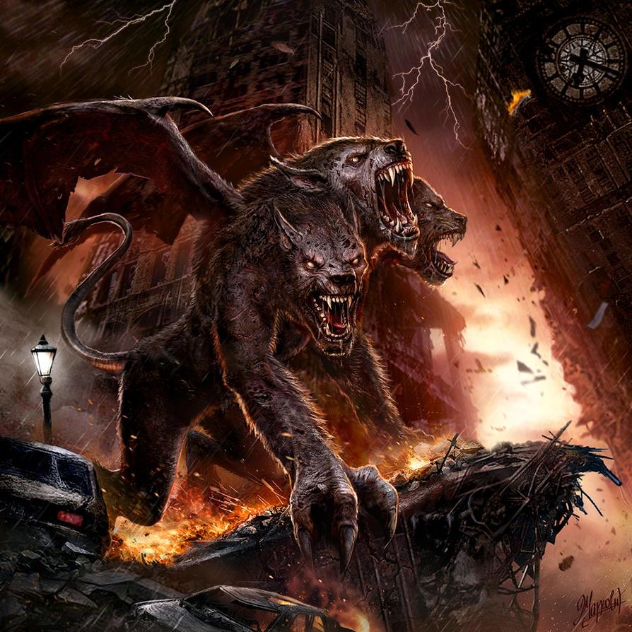 Hell Hound by DusanMarkovic