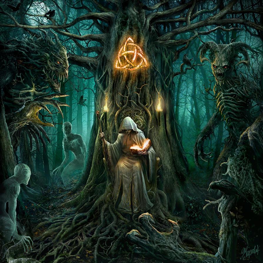 The druid king by DusanMarkovic on DeviantArt