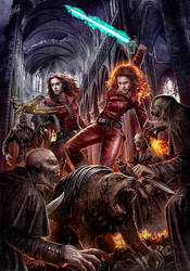 Scourge of the nephilim by DusanMarkovic