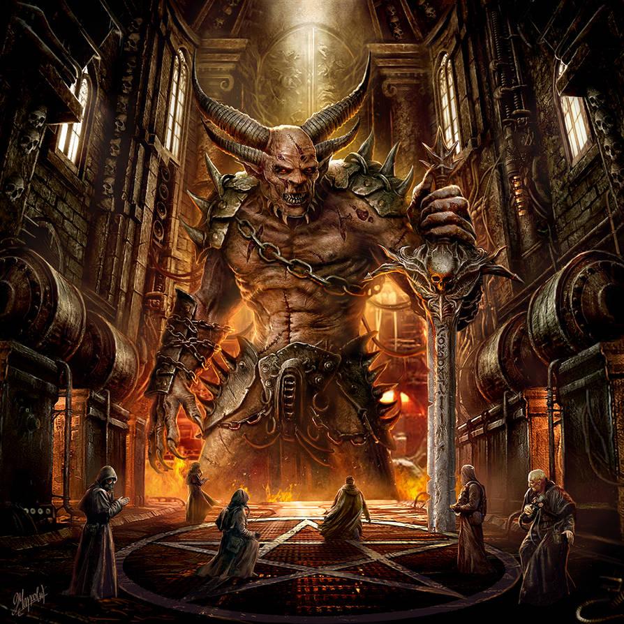 The God Machine by DusanMarkovic