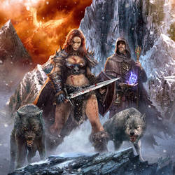 The path of Barbarian by DusanMarkovic