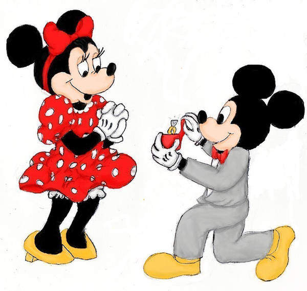 mickey s proposal by bethhigdon on deviantart